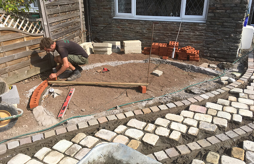 Hard Landscaping, Patios & paving