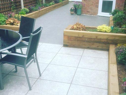 Complete garden redesign, Coalpit Heath