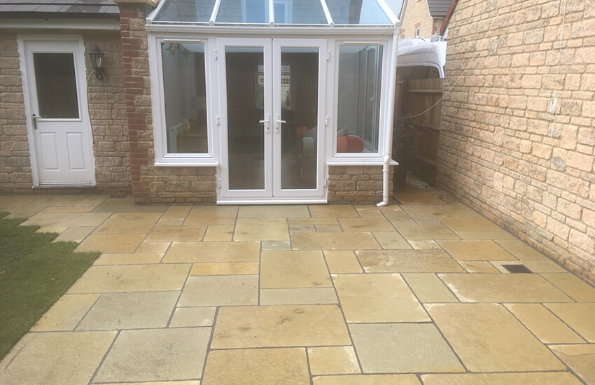 Limestone Paving in Yate
