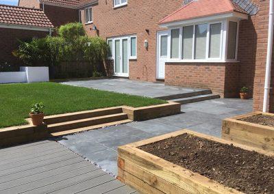Complete garden redesign, Frampton Cotterell