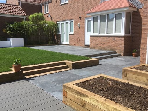 Complete garden redesign, Frampton Cotterell
